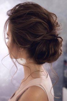 15 Stunning Low Bun Updo Wedding Hairstyles from Tonyastylist (EmmaLovesWeddings. - 15 Stunning Low Bun Updo Wedding Hairstyles from Tonyastylist (EmmaLovesWeddings) – - Wedding Hairstyles For Long Hair, Wedding Hair And Makeup, Bride Hairstyles, Easy Hairstyles, Hair Makeup, Formal Hairstyles, Elegant Wedding Hairstyles, Dark Brown Hairstyles, Wedding Hairstyles Long Hair