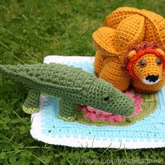 Colin the Crochet Crocodile Pattern (Little Zoo Animal) free crochet patterns  Photo