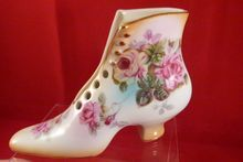 RS Prussia Boot Shoe Vase, $15