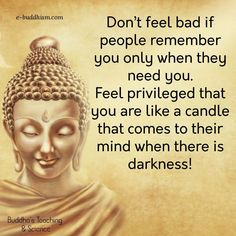be like a candle in the darkness