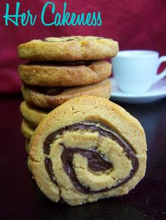 Her Cakeness: Peanutbutter-Chocolate-Swirls
