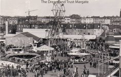Dreamland Theme Park in Margate Kent England Easter 1975