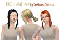Hello my fellow simblrs! If you can't tell, I really like this ponytail, so adding bangs to it to give it a unique look has been fun for me. I hope you like it too! Enjoy! DOWNLOAD TOU: Please don't...