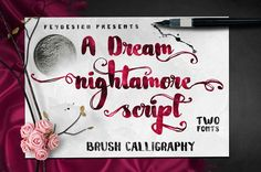 Nightamore Font | dafont.com