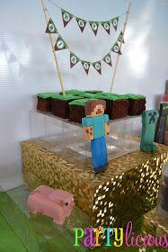 Partylicious: {Minecraft Birthday Party}
