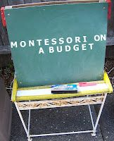 Montessori on a Budget blog: find Montessori and homeschool resources, free downloads, affordable materials and activities... for Montessori practical life, math, language, geography, science, art, and culture. Yeah!!!