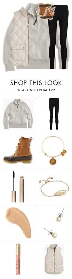 """""""so excited for cheer season!"""" by classynsouthern ❤ liked on Polyvore featuring J.Crew, Donna Karan, L.L.Bean, Alex and Ani, Giorgio Armani, Kendra Scott and NARS Cosmetics"""
