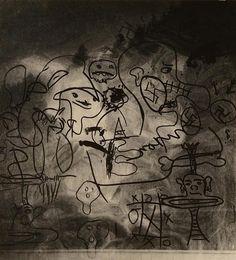 ANSEL ADAMS, (American, 1902-1984), GRAFFITI, ROCKPORT, CALIFORNIA, silver gelatin print;, 11 x 10 inches