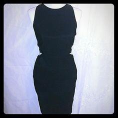 Sexy Little Black Bandage Dress