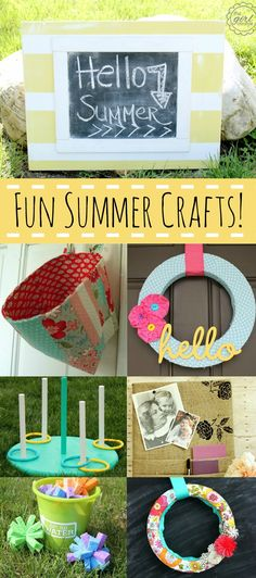 Create & Inspire Party | Fun Summer Crafts - A Night Owl Blog