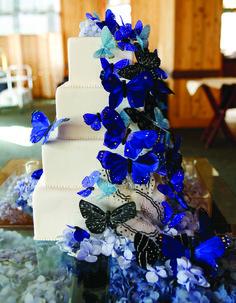 Colorful Cakes | Utah Bride & Groom