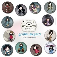 <p>You are just going to love these! We have a New Collection of Gorjuss Magnets to collect. The initial launch has 12 girls to collect. Each of the metal button magnets has a matt finish with gloss details, which is your favourite? Click here to see the collection in full. …</p>