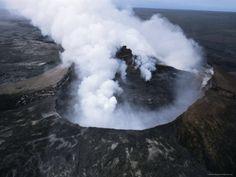 Active Volcano, Big Island of Hawaii, www.RevWill.com