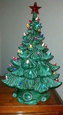 Group Of Ceramic Christmas Tree Atlantic