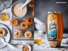 Honig-Donuts mit Honigglasur und gerösteten Mandeln | Nicest Things | Bloglovin'