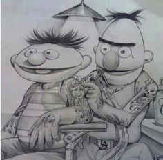 Bert and Ernie rocks!