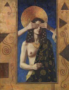 Jake Baddeley, oil on canvas, 2000