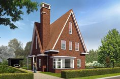 Nieuwbouw Zierikzee - De Lanen Zeeland | Bouw uw Droomhuis in Schouwen Duiveland | Klassieke woningen en Nieuwbouwprojecten