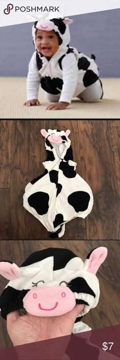 carters 6 9 month baby cow costume like new and so cute i don - Baby Cow Costume Halloween