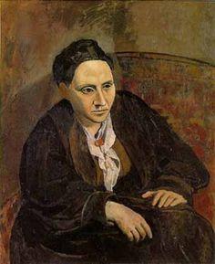 """Picasso, """"Gertrude Stein"""""""