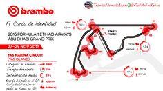 [Infografía] Puntos de frenada, energía y deceleración del Yas Marina F1 2015  #F1 #Formula1 #AbuDhabiGP