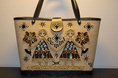 Enid Collins Gemini bag; browns