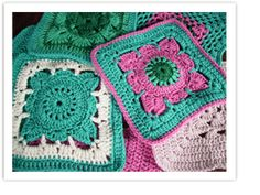 """Knit a Square"" - charity square, easy crochet pattern"