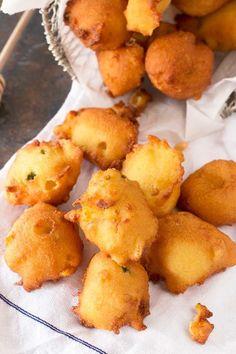 Jalapeño Agave Cornbread Fritters