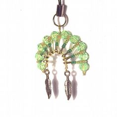 indian jewelry safty pin headpiece | 07100 Beaded Art Native American Headdress Cell Phone Charm ...
