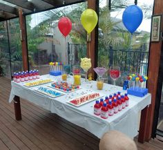 ideas good for any theme, really. 5th Birthday Party - Transformers Theme