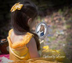 Child photographer Batavia Il Beauty and the Beast photoshoot