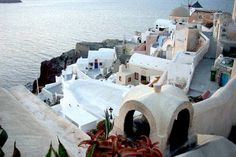One of the magnificent views from Oia, in Santorini.