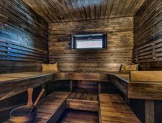 Sauna Design, Deck Design, Sauna Wellness, Building A Sauna, Sauna Shower, Outdoor Sauna, Finnish Sauna, Steam Sauna, Sauna Room