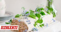 Lohikääretorttu - helppo resepti Cake, Desserts, Foods, Tailgate Desserts, Food Food, Deserts, Food Items, Kuchen, Postres