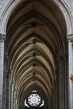 #Amiens Cathedral, France - 13th century HIGH #GOTHIC style. Work started in the centre of the building in 1220.