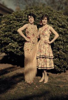 Epic 1920s lawn dresses