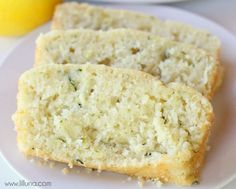 Lemon Zucchini Bread  Make as muffins?