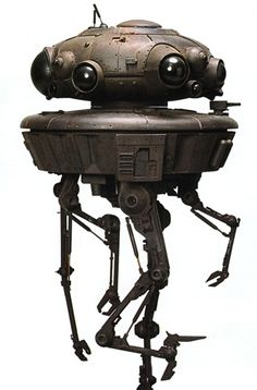Imperial Viper Probe Droid from ''Star Wars'' Droides Star Wars, Star Wars Film, Star Wars Ships, Star Wars Characters, Star Wars Episodes, Stargate, Coleccionables Sideshow, Darth Maul, Maquette Star Wars