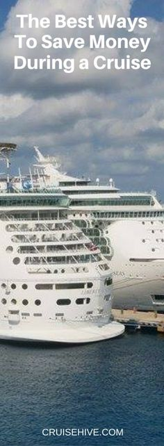 Despite extra charges for many different amenities on board, you can save during your cruise without missing anything that can make a cruise vacation fun.