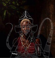 A arte e homenagem aos Orixás de Tauan Carmo • GarimpoGarimpo                                                                                                                                                                                 Mais