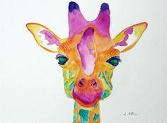 Watercolor Animals, Watercolor Paintings, Watercolor Ideas, Watercolors, Art Of Persuasion, Cool Art, Fun Art, Illustration Art, Illustrations