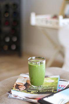 Friday's Five - green smoothie