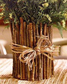 5 Smashing Tips: Square Floor Vases vases centerpieces white.Ceramic Vases With Flowers ceramic vases with flowers.Old Vases Test Tubes. Fun Crafts, Diy And Crafts, Arts And Crafts, Vase Crafts, Soup Can Crafts, Twig Crafts, Wooden Crafts, Recycled Crafts, Handmade Crafts