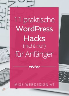 11 practical WordPress hacks (not only) for beginners Miss web design - You can still tweak a few screws to make working with WordPress even easier, and even I learned som - Wordpress Template, Wordpress Plugins, Inbound Marketing, Online Marketing, Content Marketing, Web Design, Online Jobs, Digital Media, Online Business