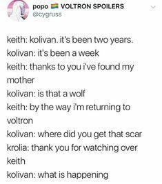 Krolia, Keith, and Kolivan