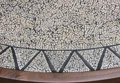 Egg Shell Inlay Table Mosaic Eggshell Mosaic, Vietnam Hotels, Egg Shell Art, Mosaic Furniture, Shell Crafts, Art Plastique, Egg Shells, Diy Painting, Creations