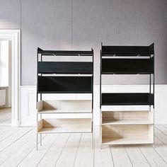 top3 by design - Skagerak - Skagerak vivlio shelf black med