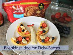 Breakfast Idea for Picky-Eaters with Aunt Jemima Waffles #4MoreWaffles #shop #cbias