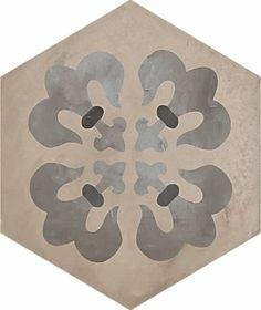 #Marca Corona #Terra Giglio Esagonale Vers. F 25x21,6 cm 0406 | #Gres #cementine #25x21,6 | su #casaebagno.it a 61 Euro/mq | #piastrelle #ceramica #pavimento #rivestimento #bagno #cucina #esterno