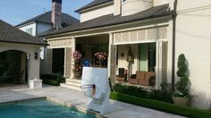 Check out our wall systems gallery for ideas on how we can help bring privacy and shade protection to your outdoor space. Deck Over, Privacy Walls, Outdoor Spaces, Outdoor Decor, Outdoor Settings, Shutters, Home Improvement, Shades, Windows